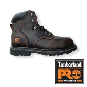 "Timberland PRO Men's 6"" Pit Boss Steel Toe Boots"